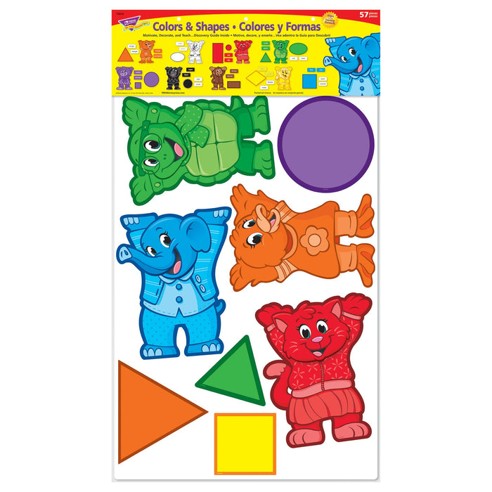 T8010 Bulletin Board Colors Shapes Package