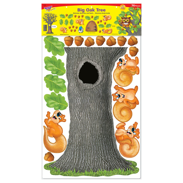 T8026 Bulletin Board Oak Tree Package