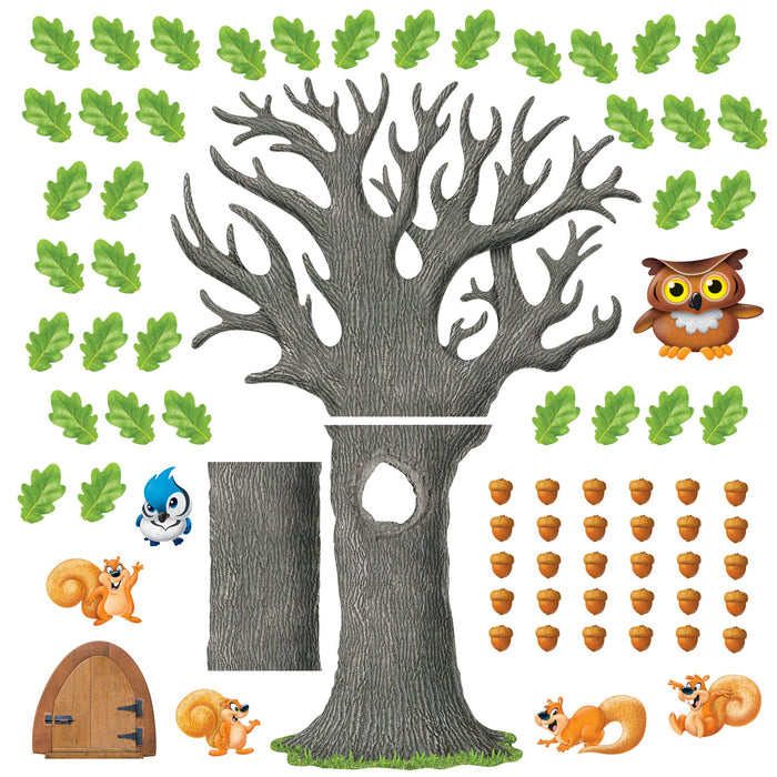 T8026 Bulletin Board Oak Tree