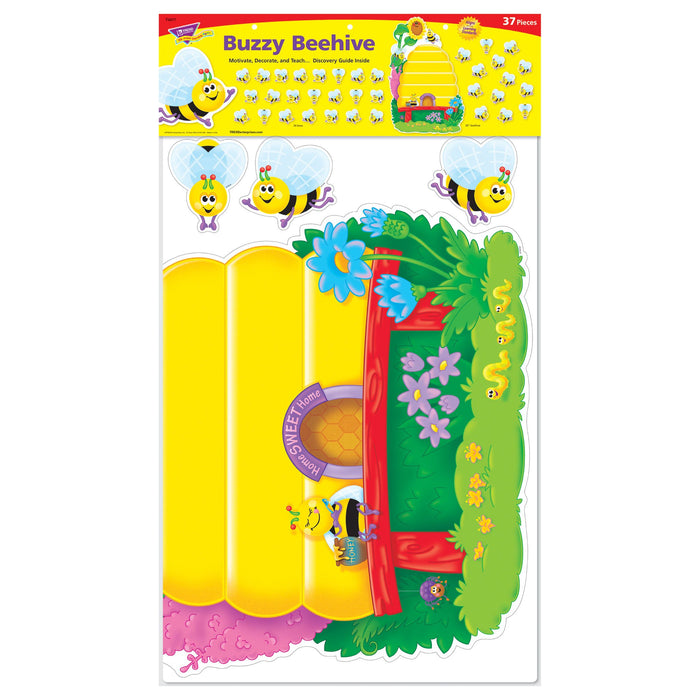 T8077 Bulletin Board Bees Job Chart Package