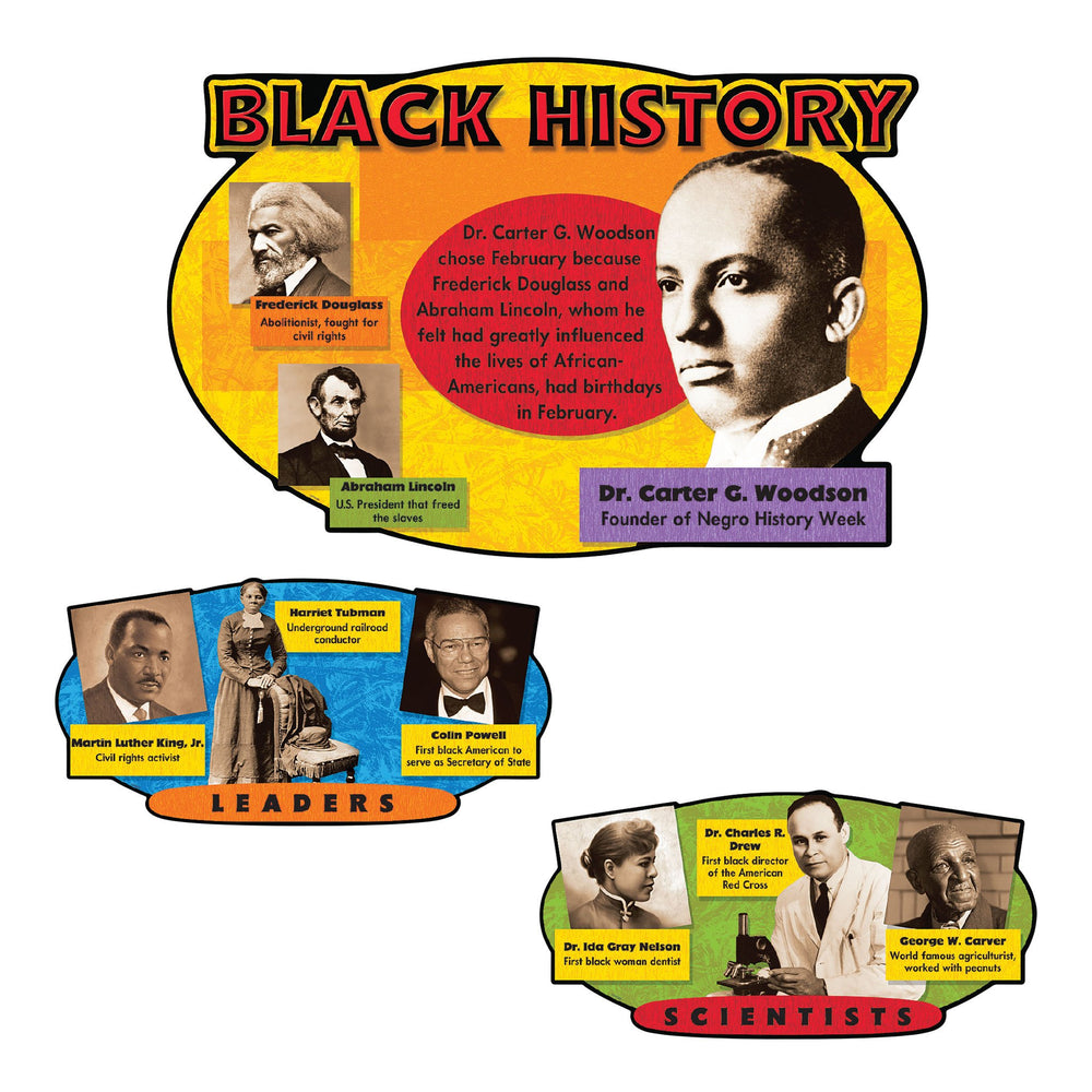 T8095 Bulletin Board Black History