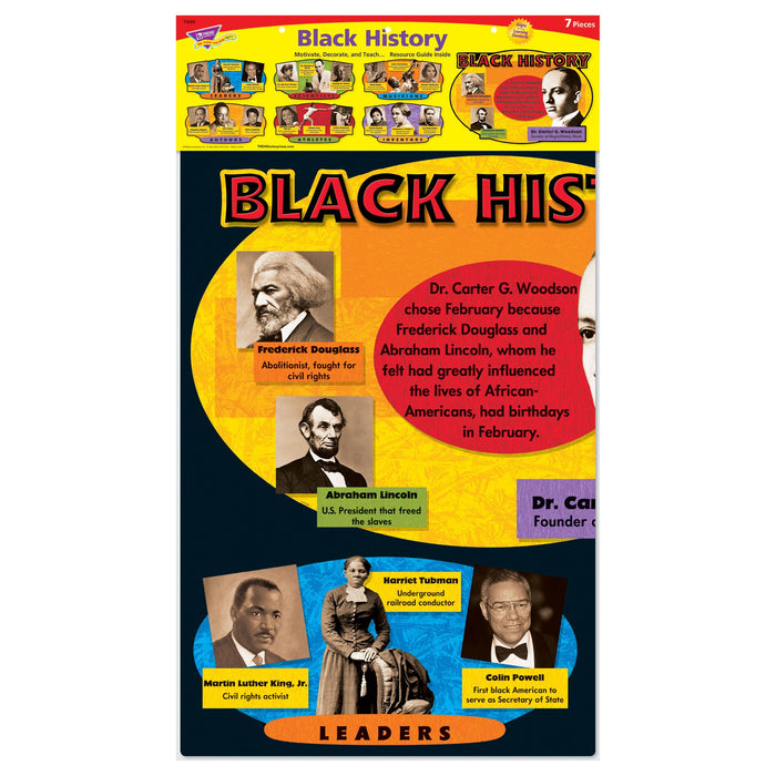 T8095 Bulletin Board Black History Package