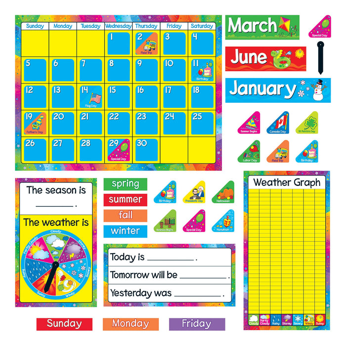 T8096 Bulletin Board Year Around Calendar