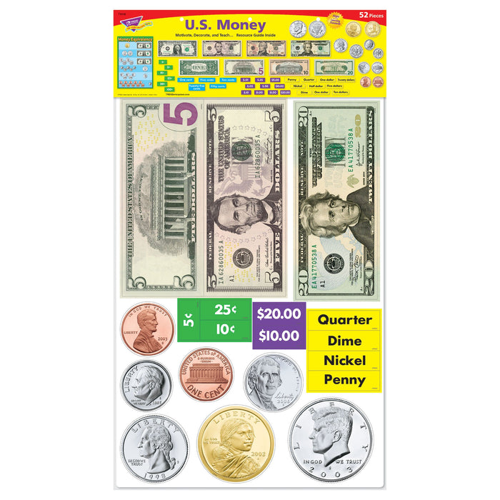 T8142 Bulletin Board Money Package