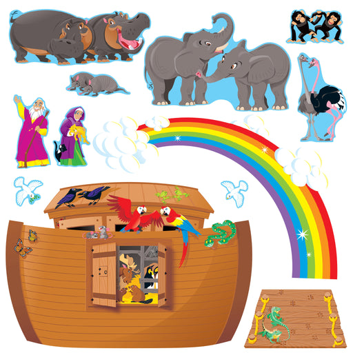 T8163 Bulletin Board Noah's Ark