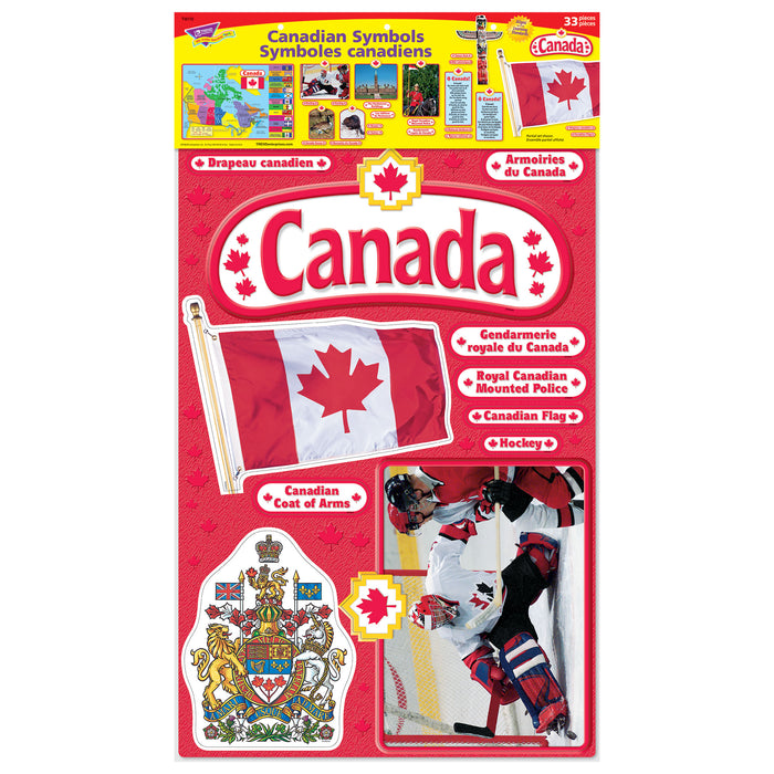 T8172 Bulletin Board Canadian Symbols Package
