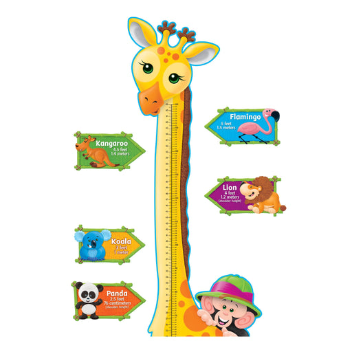 T8176 Bulletin Board Giraffe Grow Chart