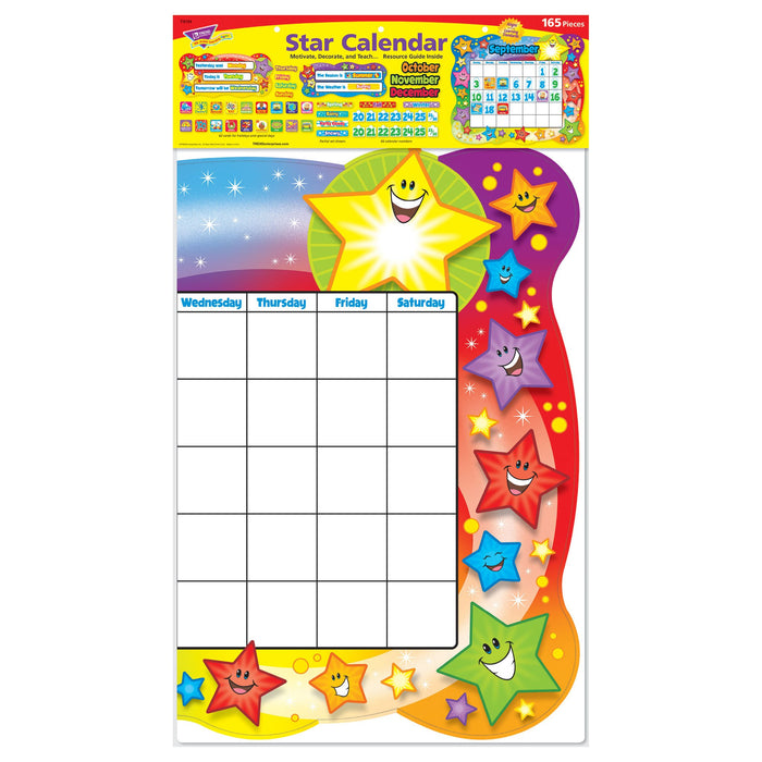 T8194 Bulletin Board Star Calendar Package