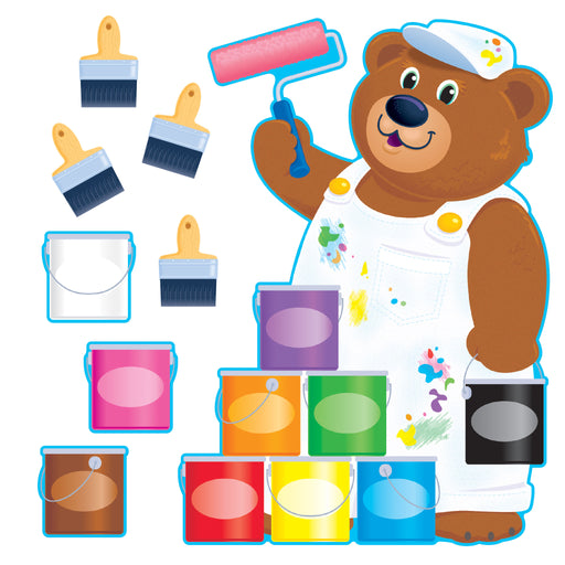 T8209 Bulletin Board Painter Bear