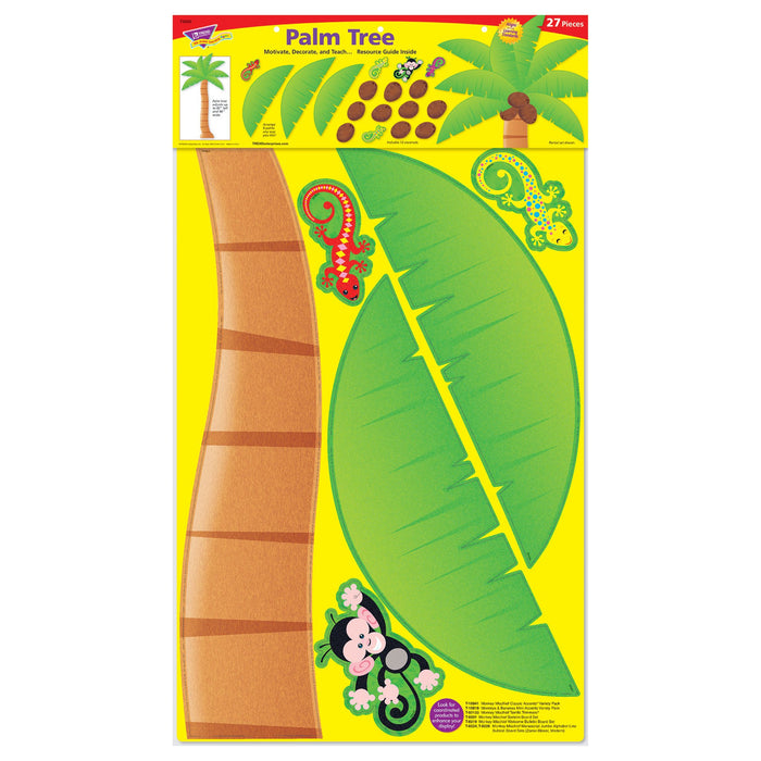 T8220 Bulletin Board Monkey Palm Tree Package