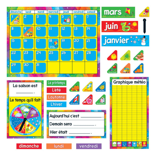 T8292 Bulletin Board French Calendar