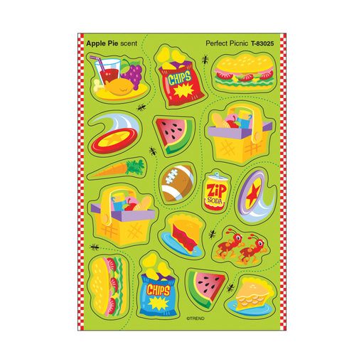 T83025 Stickers Scratch n Sniff Apple Pie Perfect Picnic