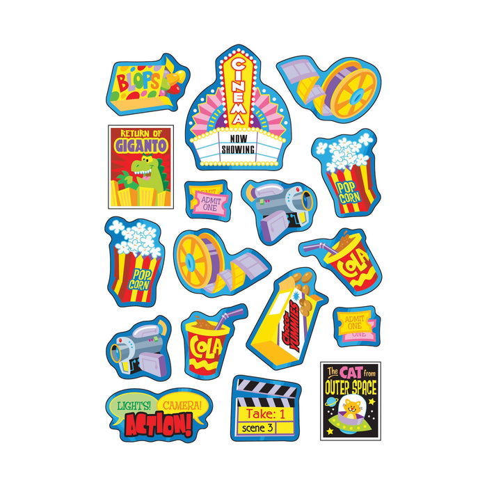 T83026 Stickers Scratch n Sniff Cola Marvelous Movies