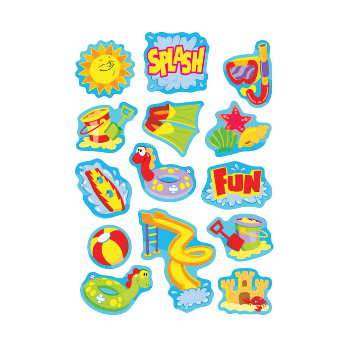 T83027 Stickers Scratch n Sniff Sea Breeze Water Play