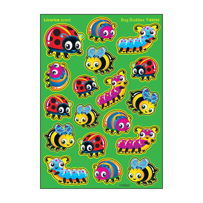 T83032 Stickers Scratch n Sniff Licorice Bug Buddies