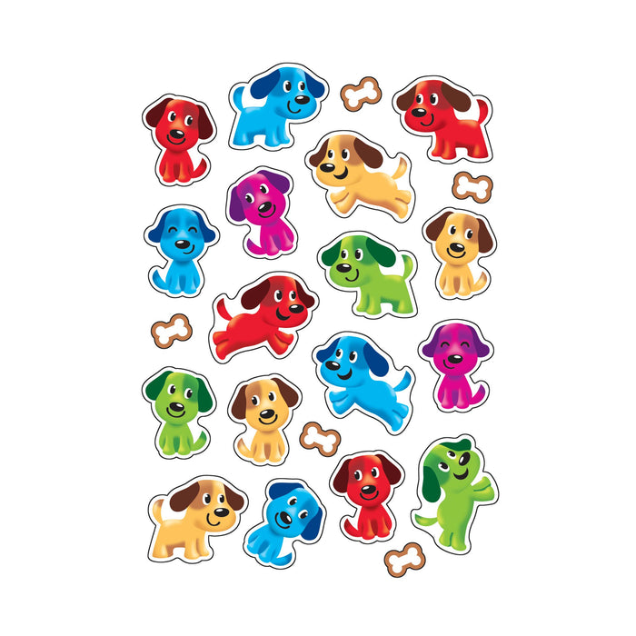 T83035 Stickers Scratch n Sniff Gingerbread Puppy Pals