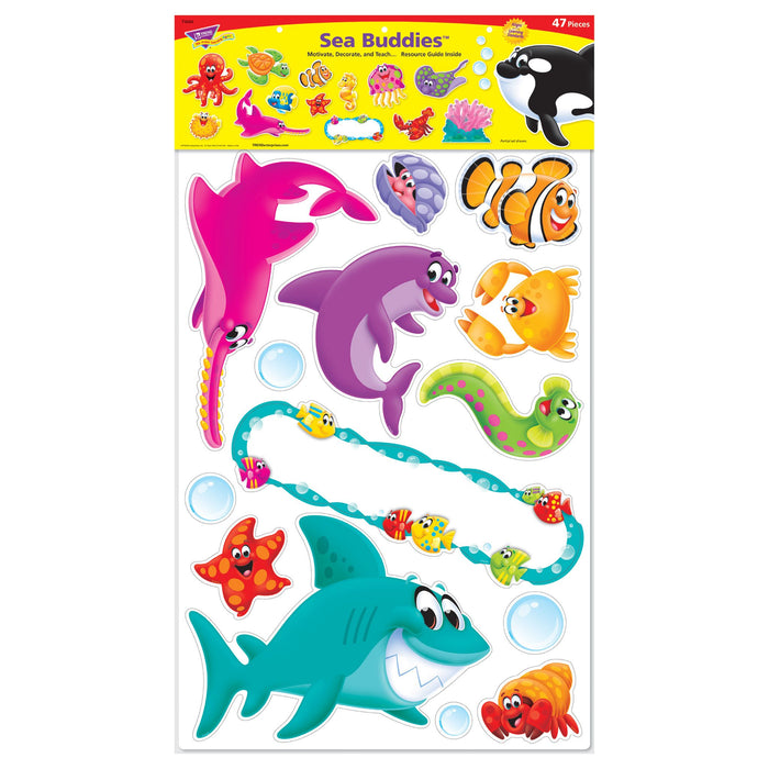 T8304 Bulletin Board Sea Life Package