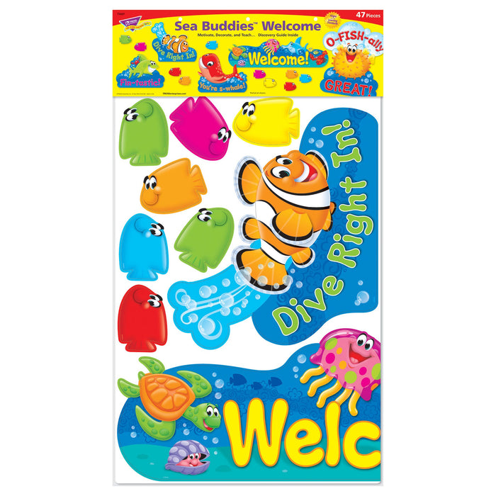 T8307 Bulletin Board Sea Life Welcome Package