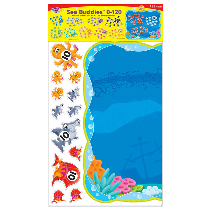 T8308 Bulletin Board Sea Life 0 120 Package