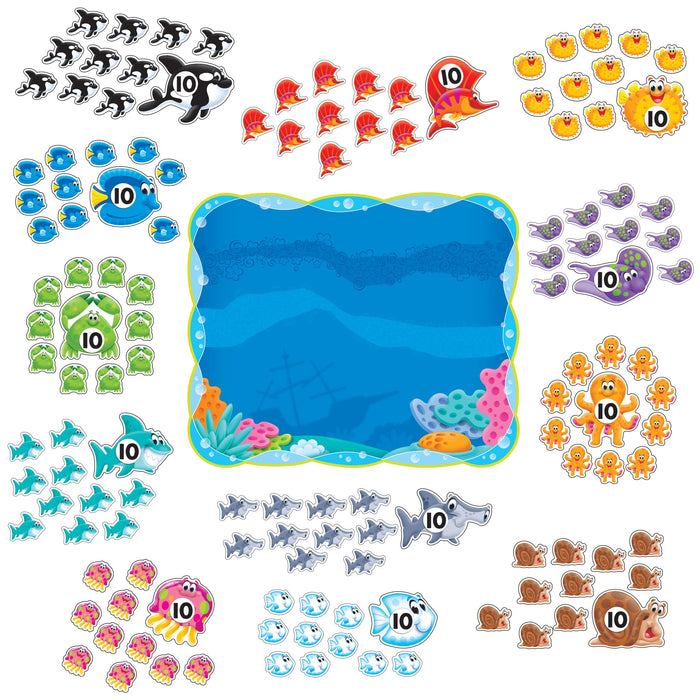 T8308 Bulletin Board Sea Life 0 120
