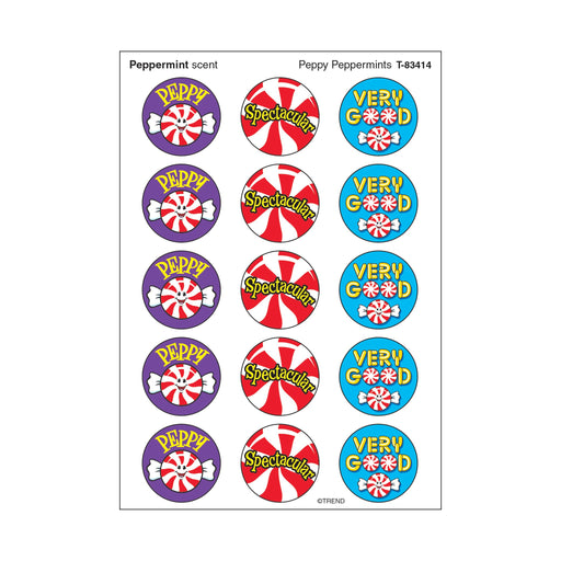 T83414 Stickers Scratch n Sniff Peppermint