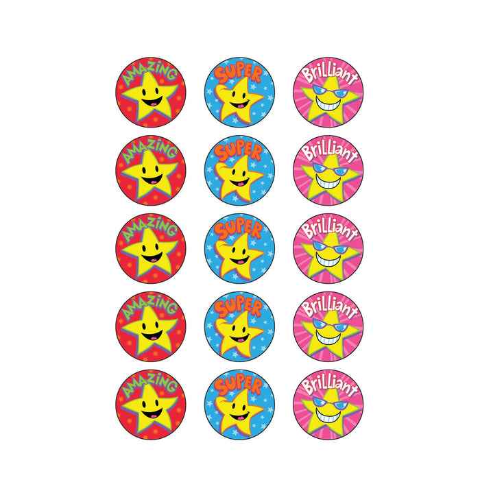 T83432 Stickers Scratch n Sniff Caramel Superstars