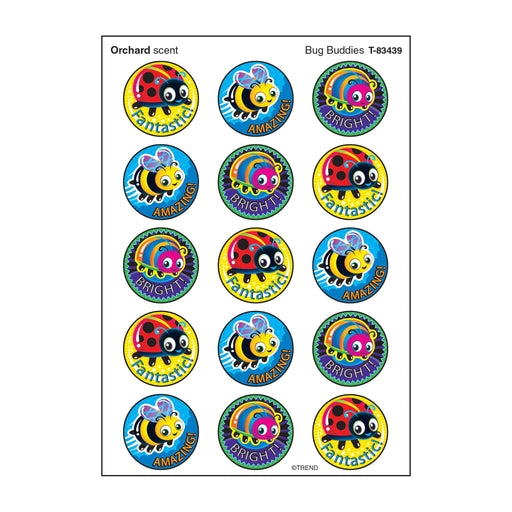 T83439 Stickers Scratch n Sniff Orchard Bug Buddies