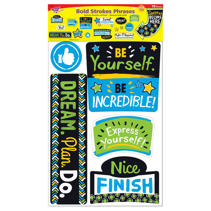 T8391 Bulletin Board Bold Phrases Package