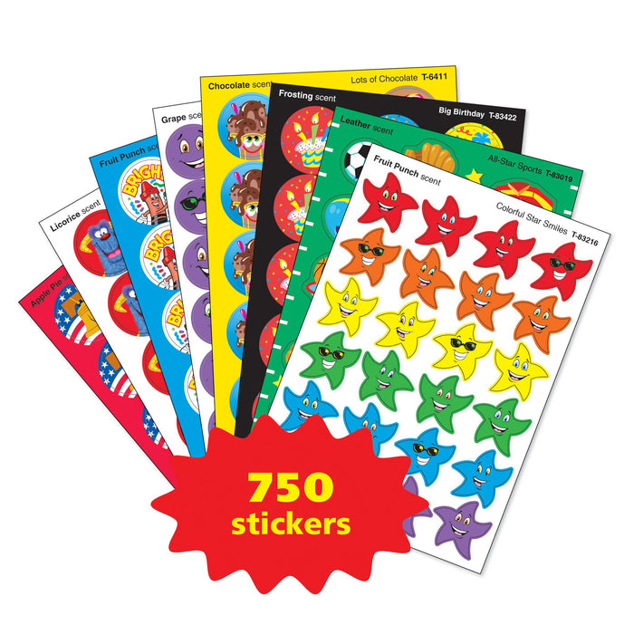 T83912 Sticker Variety Pack Scratch n Sniff Stinky Stickers