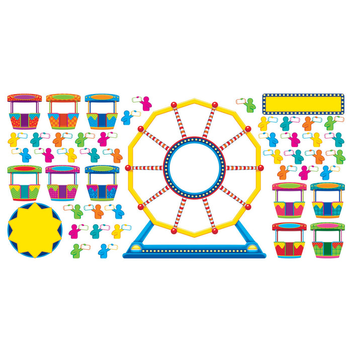 T8417 Bulletin Board Ferris Wheel