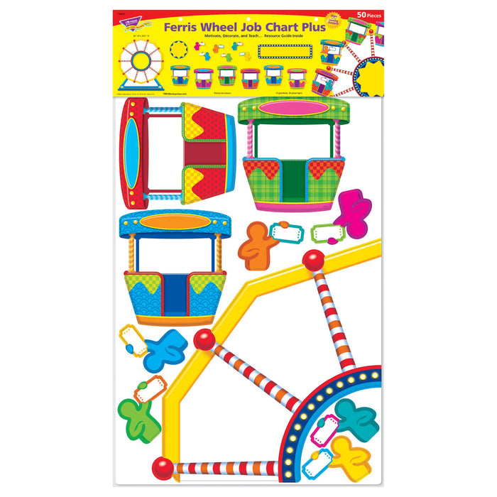 T8417 Bulletin Board Ferris Wheel Package