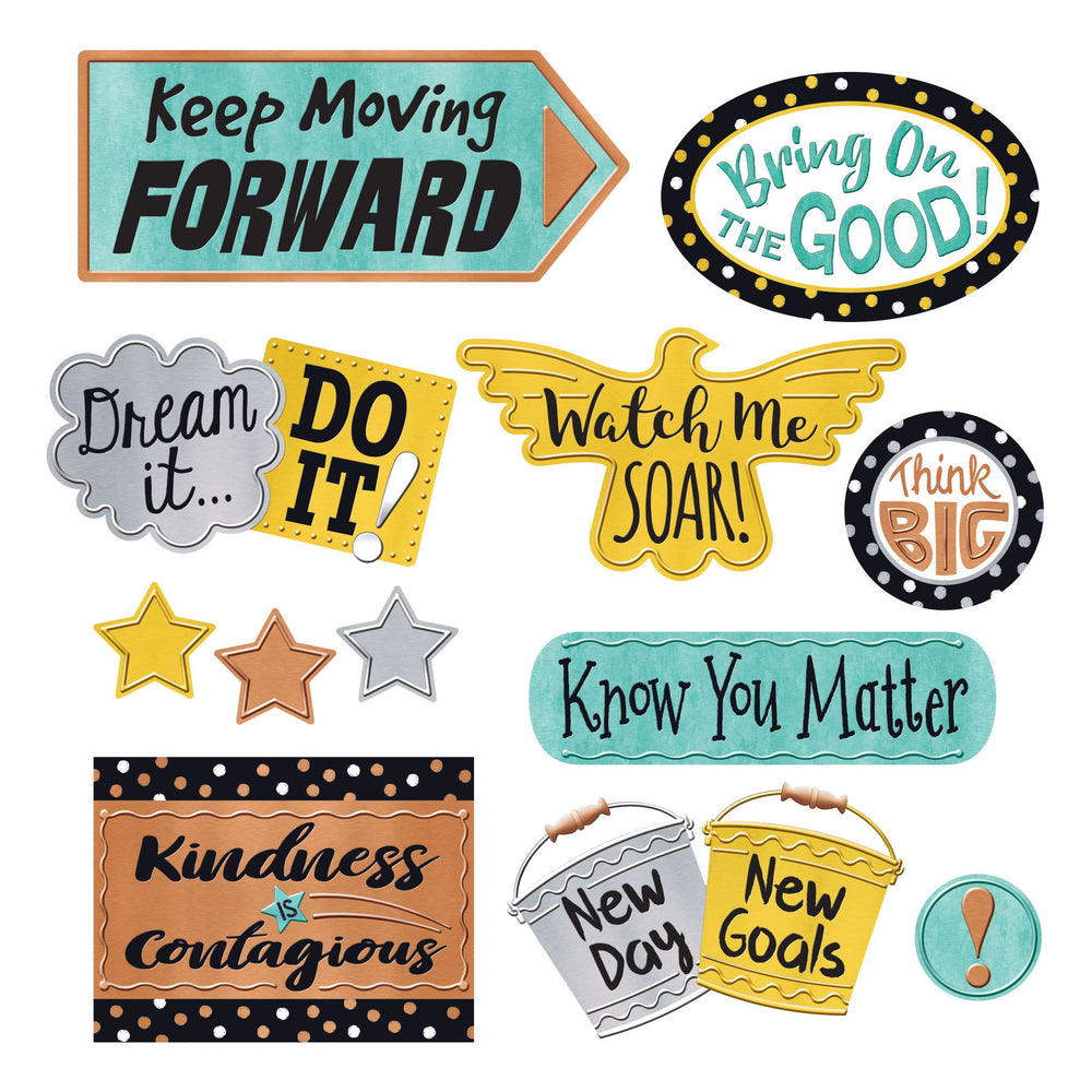 T8426 Bulletin Board Metal Phrases