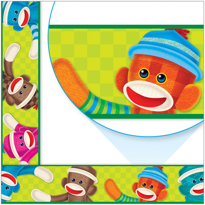 T85100 Border Trimmer Sock Monkey