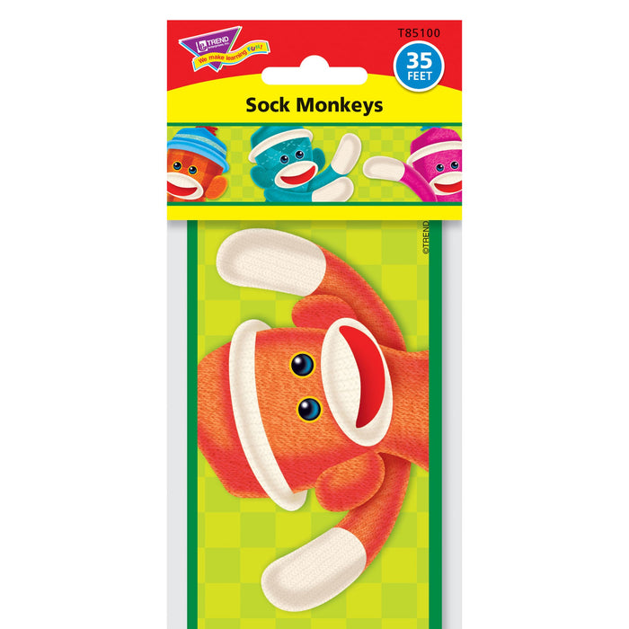 T85100 Border Trimmer Sock Monkey Package