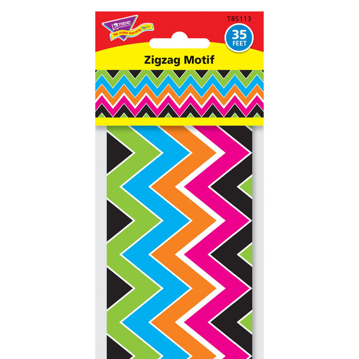 T85113 Border Trimmer Zigzag Motif Package
