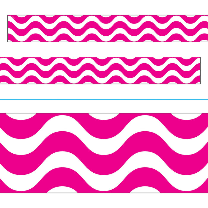 T85157 Border Trimmer Wave Pink
