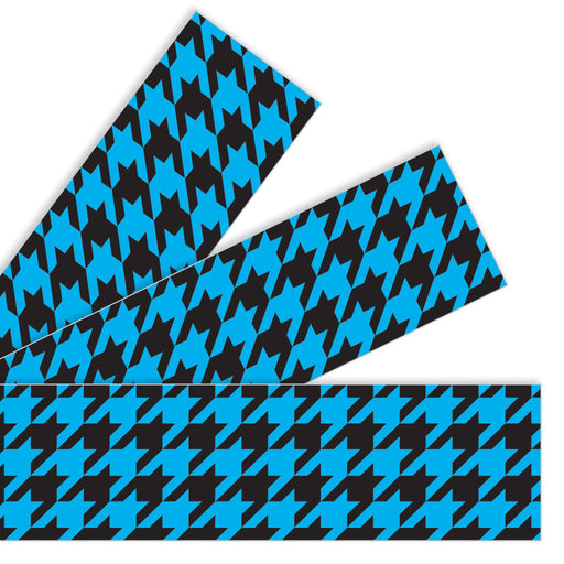 T85165 Border Trimmer Houndstooth Blue