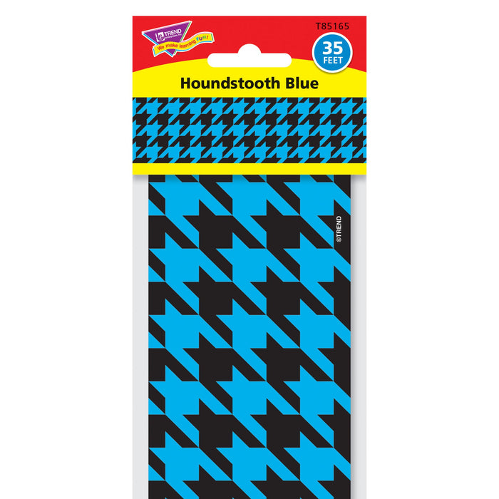 T85165 Border Trimmer Houndstooth Blue Package