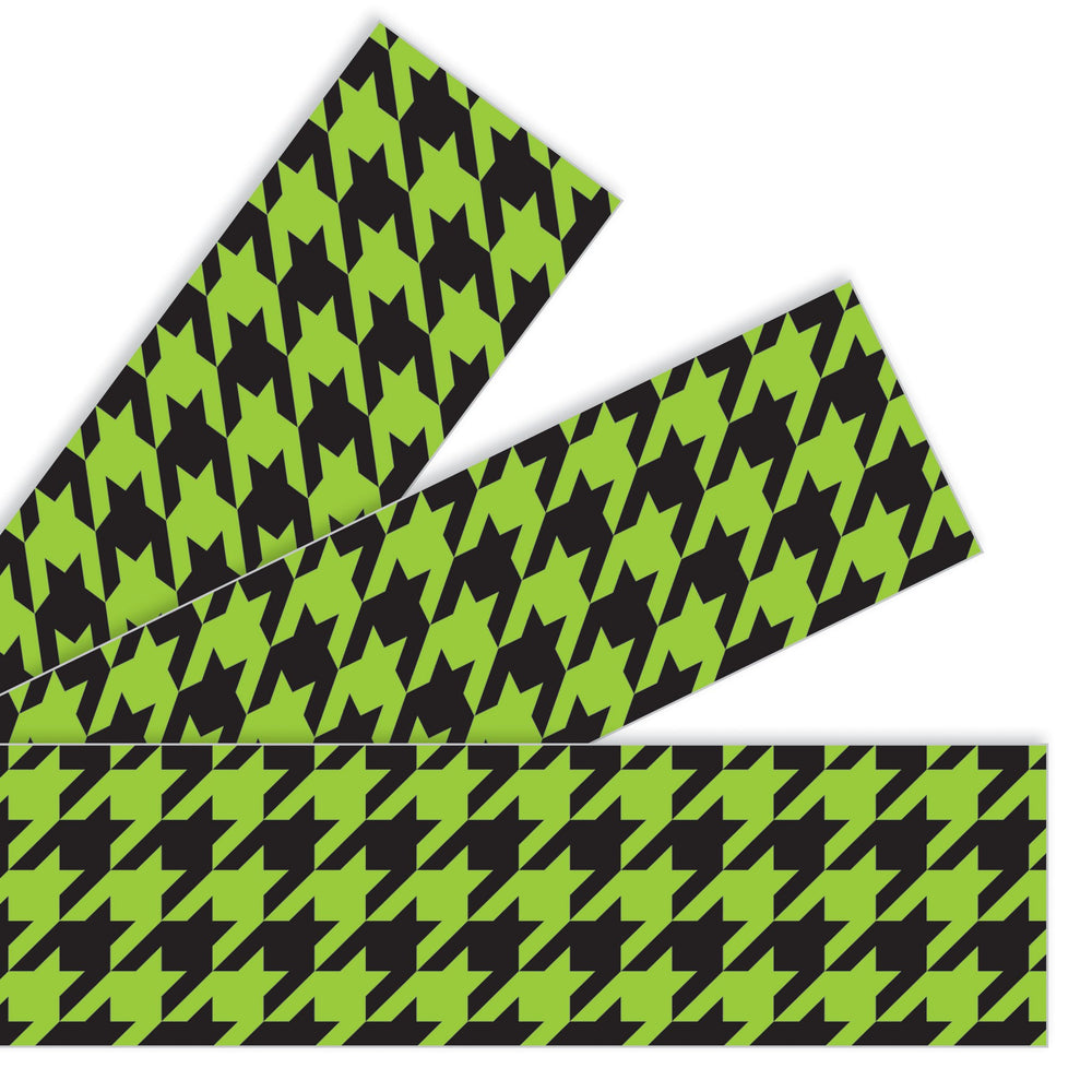 T85167 Border Trimmer Houndstooth Green
