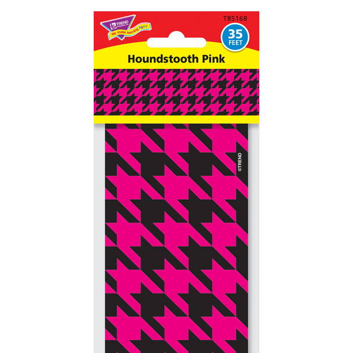 T85168 Border Trimmer Houndstooth Pink Package
