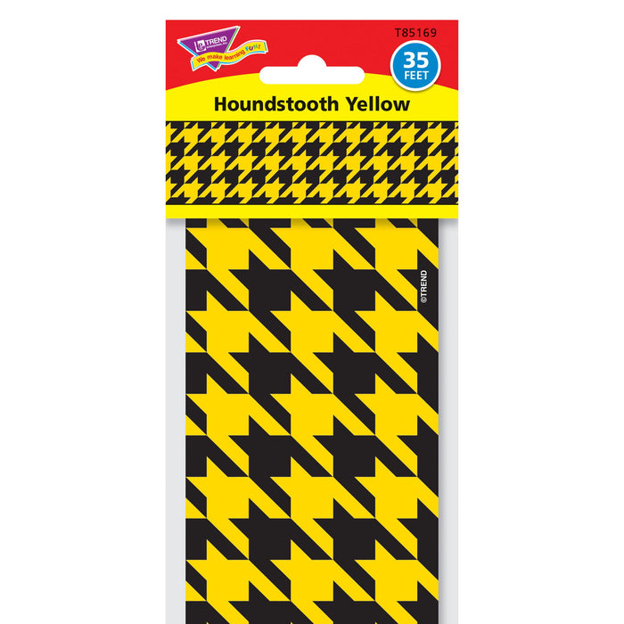 T85169 Border Trimmer Houndstooth Yellow Package