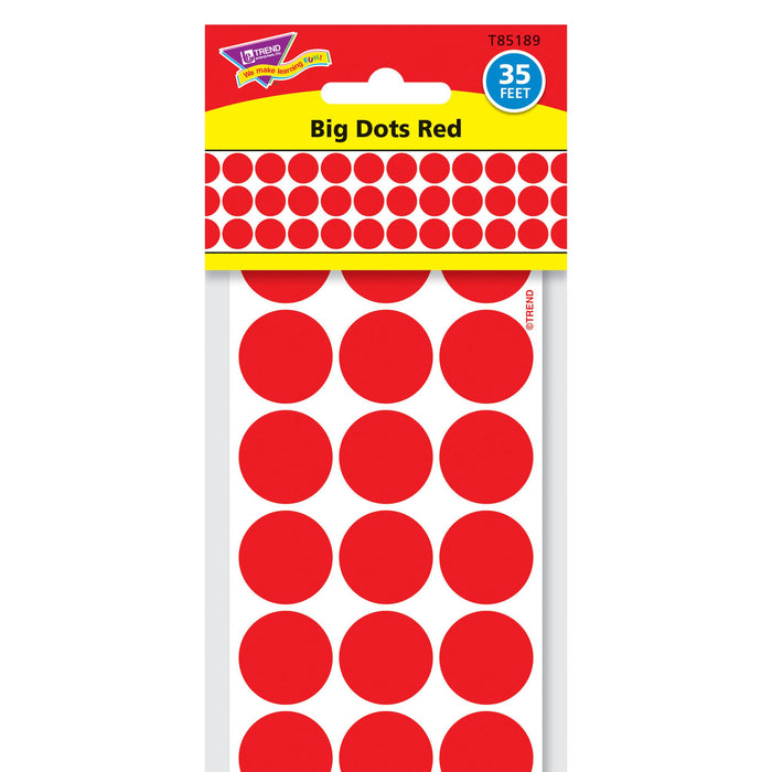 T85189 Border Trimmer Big Dots Red Package