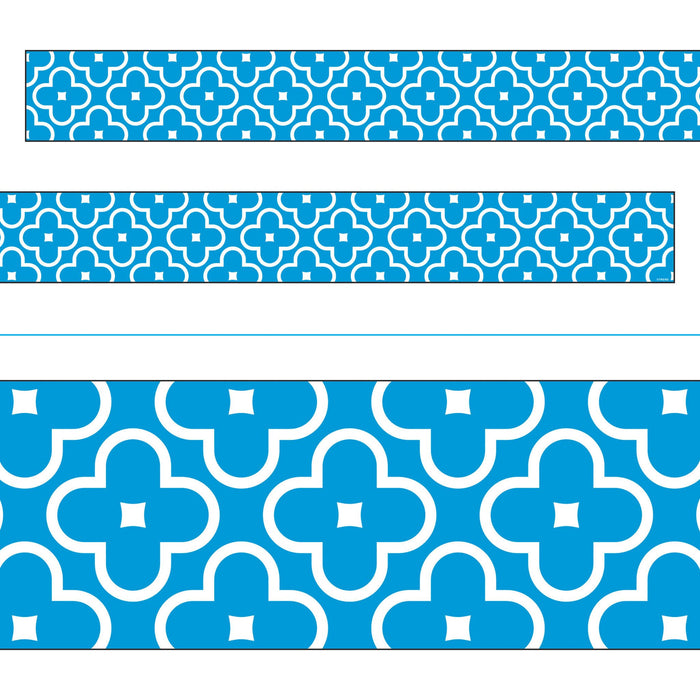 T85191 Border Trimmer Floral Blue