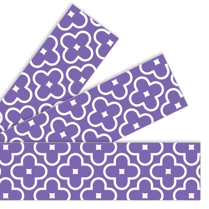 T85197 Border Trimmer Floral Purple