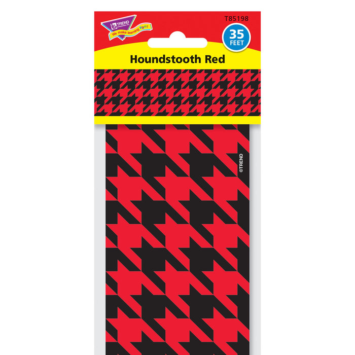 T85198 Border Trimmer Houndstooth Red Package