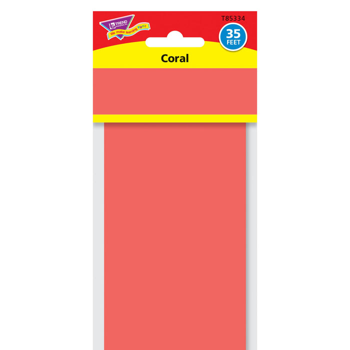 T85334 Border Trimmer Solid Coral Package
