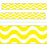 T85340 Border Trimmer Wavy Yellow