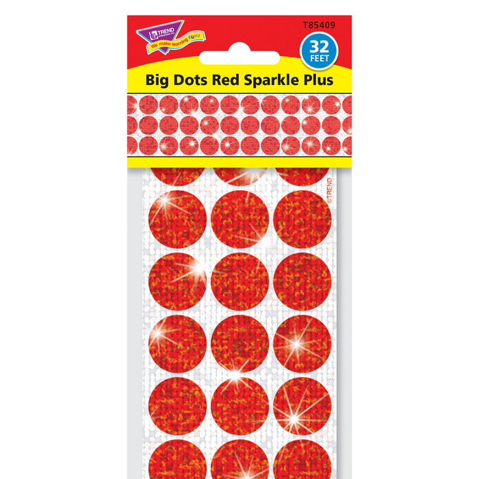 T85409 Border Trimmer Sparkle Big Dots Red Package