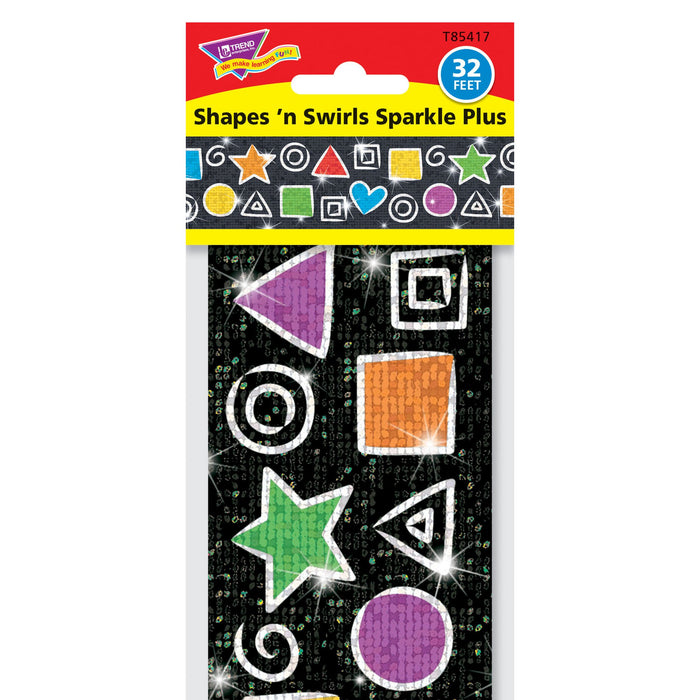 T85417 Border Trimmer Sparkle Shapes And Swirls Package