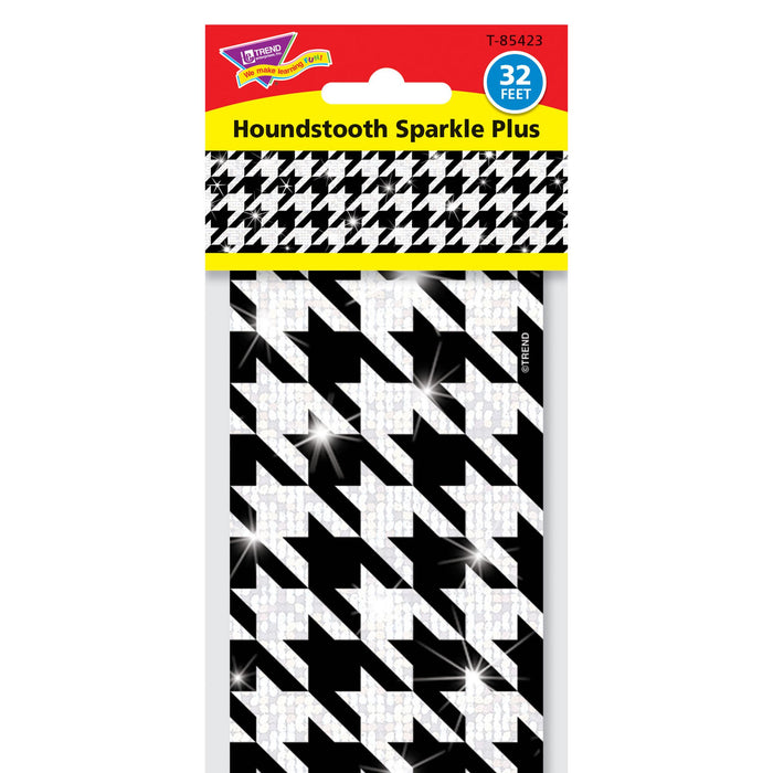 T85423 Border Trimmer Sparkle Houndstooth Package
